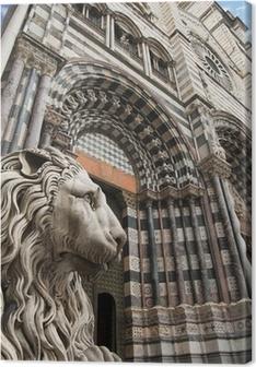 Cuadro en Lienzo Iglesia de San Lorenzo - Génova Italia