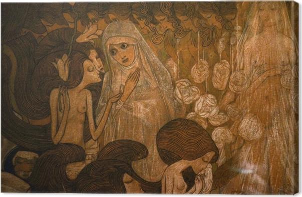 Cuadro en Lienzo Jan Toorop - Las tres novias II - Reproductions