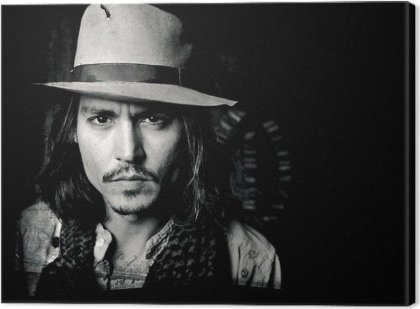 Cuadro en Lienzo Johnny Depp - Criteo
