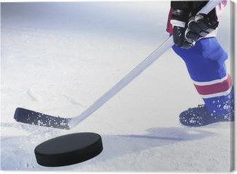 Cuadro en Lienzo Jugador de hockey