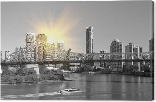 Cuadro en Lienzo La ciudad de Brisbane, Australia • Pixers ...