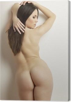 Cuadro en Lienzo La sensualidad adulta hermosa mujer desnuda