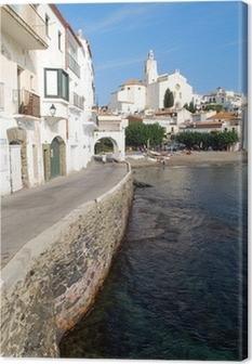 Cuadro en Lienzo Le bord de mer à Cadaqués