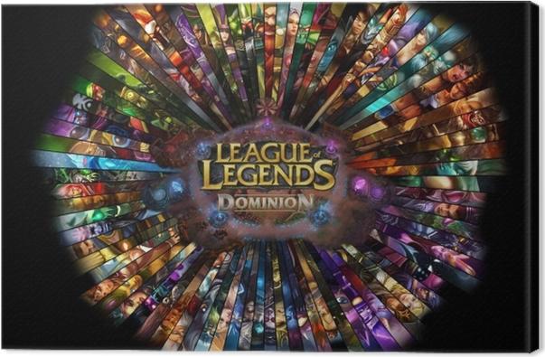 Cuadro en Lienzo League of Legends - Temas