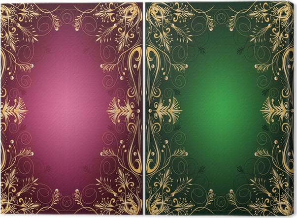 Cuadro en Lienzo Los marcos ornamentales • Pixers® - Vivimos para ...