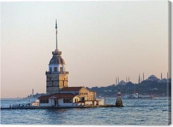 Cuadro en Lienzo Maiden Tower en Estambul