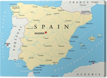 Mapa De Bilbao España.Cuadros En Lienzo Bilbao Pixers Vivimos Para Cambiar
