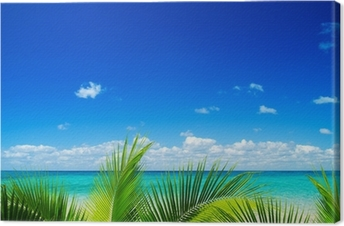 Cuadro en Lienzo Mar tropical