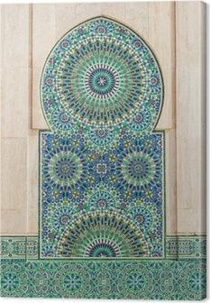 Cuadro en Lienzo Marroquí de fondo de azulejos de época