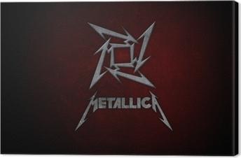 Cuadro en Lienzo Metallica