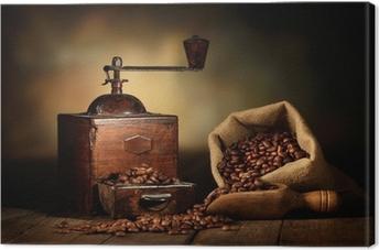 Cuadro en Lienzo Molinillo de café antiguo
