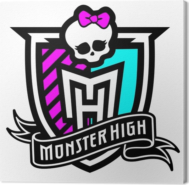 Cuadro en Lienzo Monster High logo - PI-31