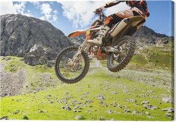 Cuadro en Lienzo Motocross al aire libre