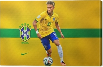 Cuadro en Lienzo Neymar