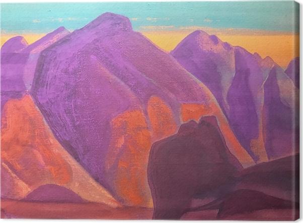 Cuadro en Lienzo Nikolái Roerich - Estio de las montañas II - Nicholas Roerich