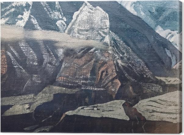 Cuadro en Lienzo Nikolái Roerich - Los Himalayas - Nicholas Roerich