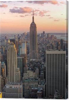 Cuadro en Lienzo Nueva York - Empire State Building