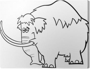 Cuadro En Lienzo Colorear Dibujos Animados Cuy Pixers Vivimos
