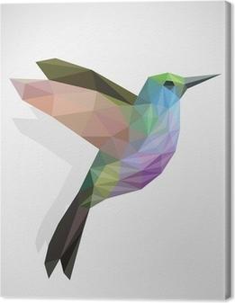 Cuadro en Lienzo Pájaro / colibrí colorido