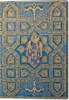 Cuadro en Lienzo Palacio de la Aljafería en Zaragoza, España