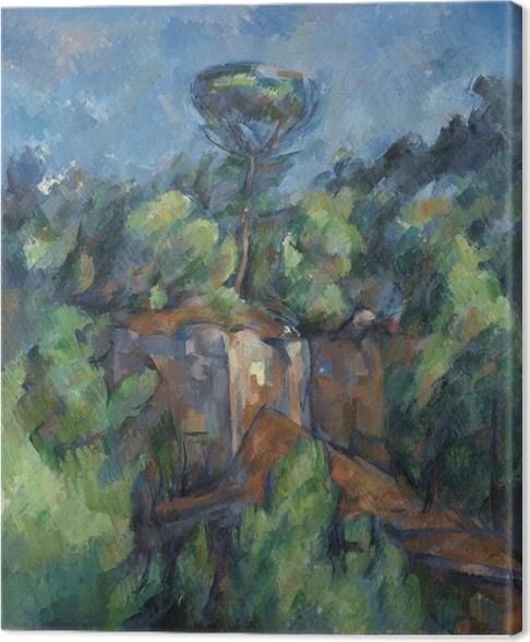 Cuadro en Lienzo Paul Cézanne - Bibémus cantera - Reproducciones
