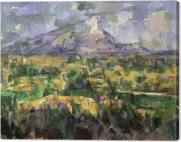 Cuadro en Lienzo Paul Cézanne - Sainte-Victoire - Reproducciones