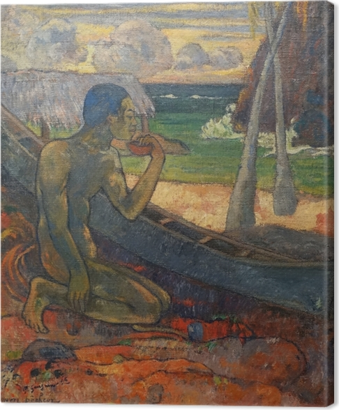 Cuadro en Lienzo Paul Gauguin - El pobre pescador - Reproducciones