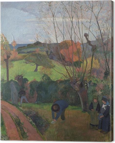 Cuadro en Lienzo Paul Gauguin - Los sauces - Reproducciones