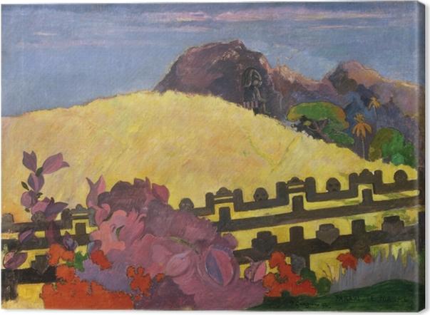 Cuadro en Lienzo Paul Gauguin - Parahi Te Marae (La montaña sagrada) - Reproducciones
