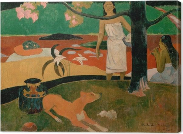 Cuadro en Lienzo Paul Gauguin - Pastoral de Tahití - Reproducciones