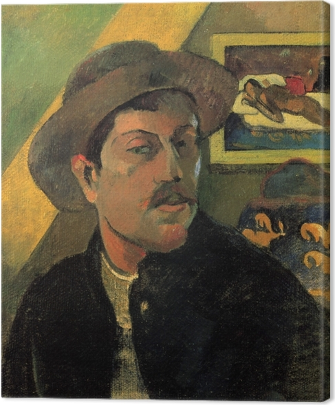 Cuadro en Lienzo Paul Gauguin - Retrato del artista - Reproducciones
