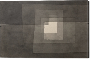 Cuadro en Lienzo Paul Klee - Dos caminos
