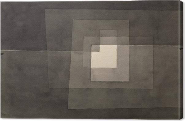Cuadro en Lienzo Paul Klee - Dos caminos - Reproducciones