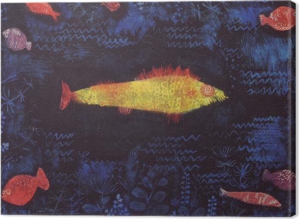 Cuadro en Lienzo Paul Klee - El Goldfish - Reproducciones
