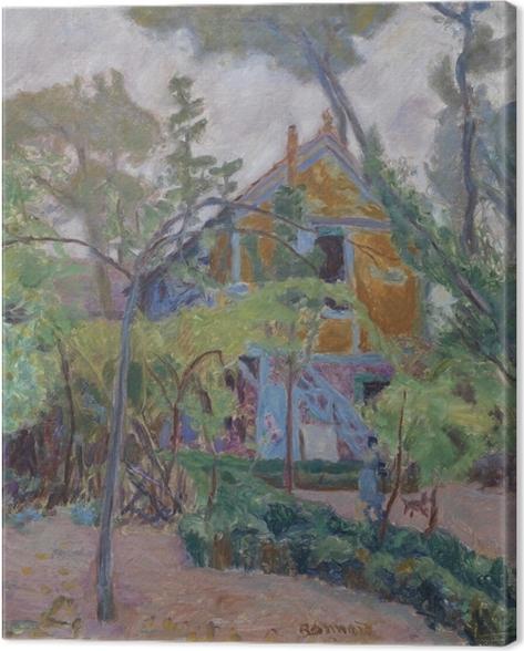 Cuadro en Lienzo Pierre Bonnard - Casa entre los árboles - Reproductions