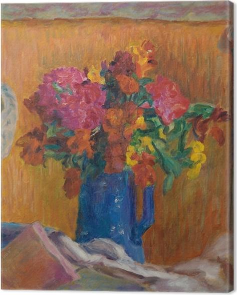 Cuadro en Lienzo Pierre Bonnard - El jarrón azul - Reproductions