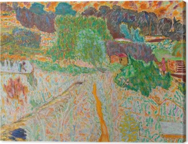 Cuadro en Lienzo Pierre Bonnard - Vista desde el estudio del artista - Reproductions