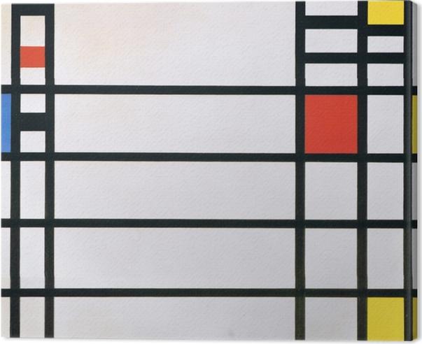Cuadro en Lienzo Piet Mondrian - Plaza de Trafalgar - Reproducciones