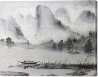 Cuadro en Lienzo Pintura china