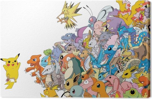Cuadro en Lienzo Pokémon - Temas