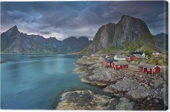 Cuadros en lienzo premium Noruega