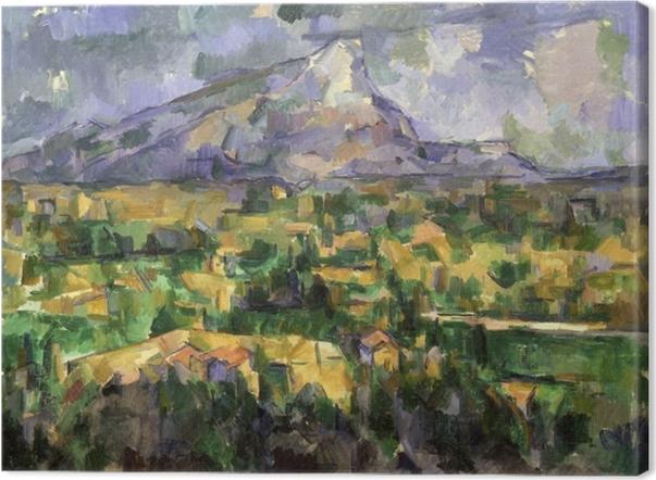 Cuadros en lienzo premium Paul Cézanne - Sainte-Victoire - Reproducciones