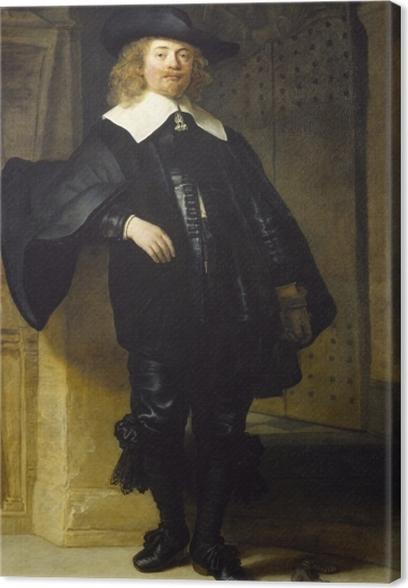 Cuadros en lienzo premium Rembrandt - Retrato de Andries de Graeff - Reproducciones