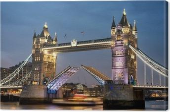 Cuadros en lienzo premium Tower bridge