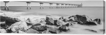 Cuadro en Lienzo Puente petrolero de badalona