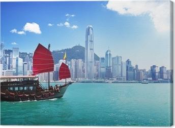 Cuadro en Lienzo Puerto de Hong Kong