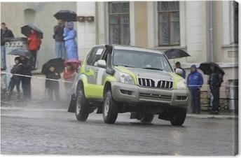 Cuadro en Lienzo Rally 4x4