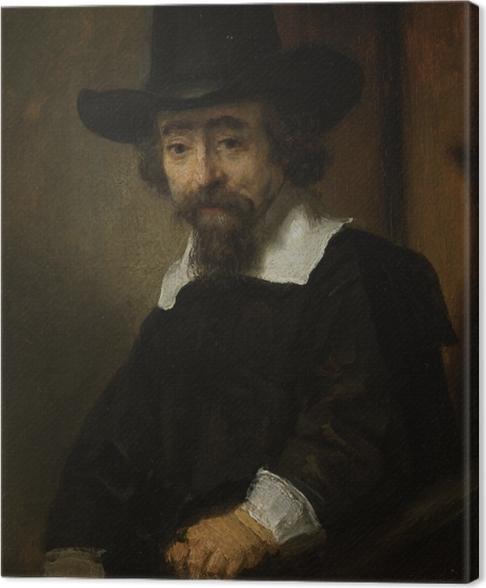 Cuadro en Lienzo Rembrandt - Retrato del Dr. Efraín Bueno - Reproducciones