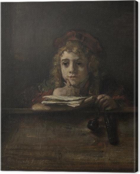 Cuadro en Lienzo Rembrandt - Tito - Reproducciones
