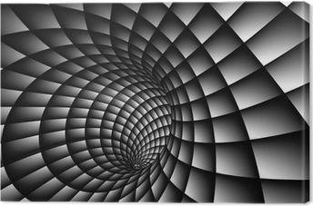 Cuadro en Lienzo Resumen 3D Spiral